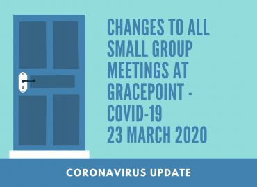 Changes To Small Group Meetings Covid 19